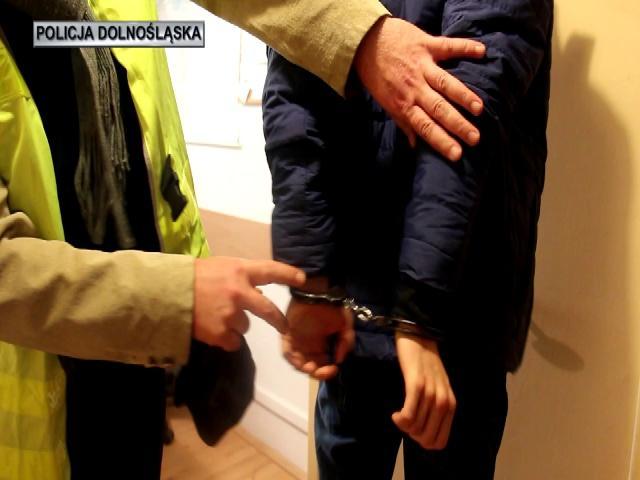 Dolnośląscy policjanci zatrzymali pedofila