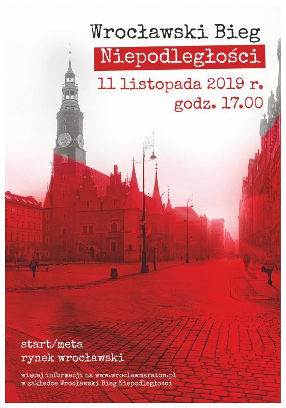 Wrocławski Bieg Niepodległości 2019 już wponiedziałek
