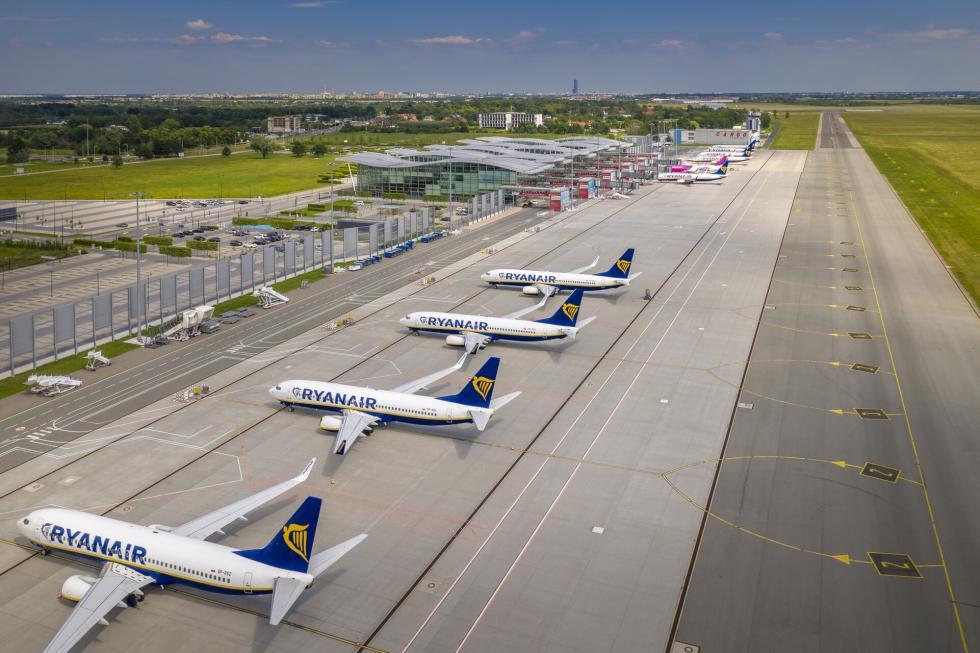 Wielki start na wrocławskim lotnisku. Dorozkładu lotów powróciły Wielka Brytania iUkraina