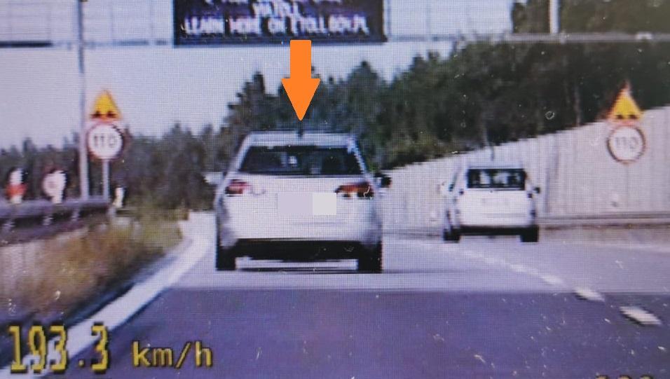 Jechała 193 km/h, bo spieszyła się dopracy